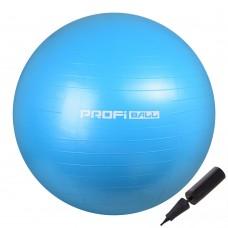 М'яч для фітнесу Profi 650 мм Sky Blue, код: M-0276-2