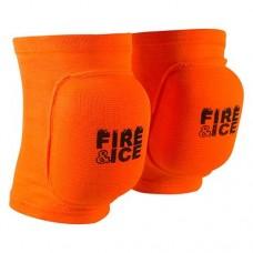 Наколінник волейбольний Fire&Ice помаранчевий розмір S, код: FR-075RG/S-WS