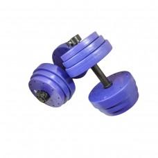 Гантели наборные металлические CrossGym Titan 2х21 кг, код: G021-2