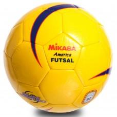 М'яч для футзалу ламінований Mikasa №4, код: FSC62Y-S52