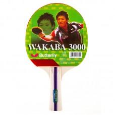 Ракетка для настольного тенниса Butterfly Wakaba 3000, код: W-3000
