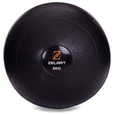 М'яч набивної слембол для кроссфіта рифлений Modern Slam Ball 8 кг, код: FI-2672-8-S52