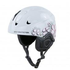 Шлем горнолыжный с механизмом регулировки Moon M/55-58 см, код: MS-2948-M-S52