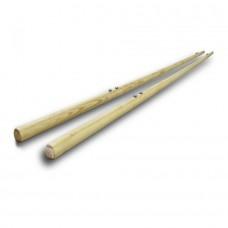 Жерди деревянные для брусьев мужских гимнастических Atletic, код: SS00489-LD