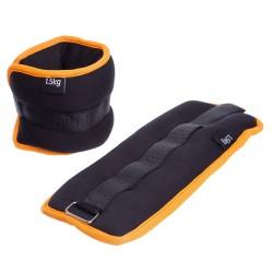 Обважнювачі-манжети для рук і ніг FitGo 2x1,5 кг, код: FI-1303-3