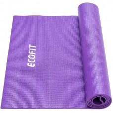 Килимок для фітнесу EcoFit фіолетовий 6 мм, код: MD9010