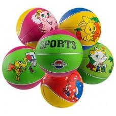 М'яч баскетбольний PlayGame Sport гумовий №3, код: R3SP-WS