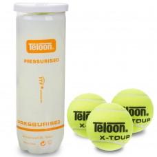 Мяч для большого тенниса Teloon X-Tour 3 шт, код: T878P3-T606P3