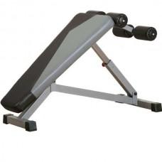 Скамья для пресса регулируемая InterAtletika Gym Business, код: BT311
