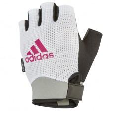 Перчатки для фитнеса Adidas L белый, код: ADGB-13245