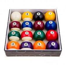 Кулі більярдні PlayGame D = 68мм, кольорові, код: 68DC-WS