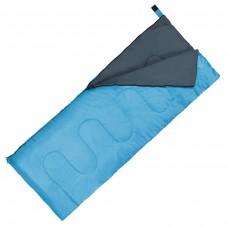Спальний мішок (ковдра) SportVida +2 ...+ 21°C R Sky Blue/Grey, код: SV-CC0060