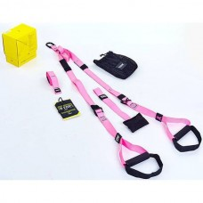 Петлі для крос-фіта TRX Pack Home Pink, art: FI-3726-P