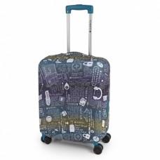 Чехол для чемодана Gabol Multi Colour M, код: 925009