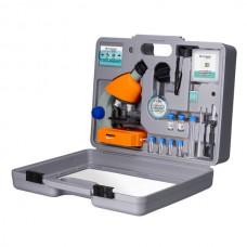 Микроскоп Bresser Junior 40x-640x Orange (с кейсом), код: 926813-SVA