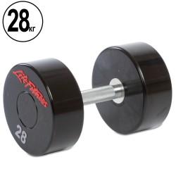 Гантель цельная профессиональная Life Fitness 1х28 кг, код: SC-80081-28