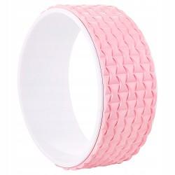 Колесо для йоги и фитнеса Springos Dharma Pink/White, код: YG0019