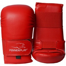 Перчатки для карате PowerPlay Red S-XL, код: PP_3027_Red