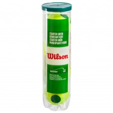 Мяч для большого тенниса Wilson Starter Play Green 4 шт, код: WRT137400