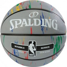 Мяч баскетбольный Spalding NBA Marble Outdoor Grey/Multi-Color, код: 3001550100117S
