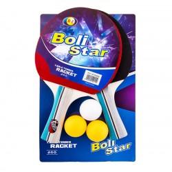 Ракетка для настільного тенісу Boli Star, код: 9011