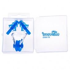 Беруши для плавания и зажим для носа Sainteve, код: SY-9502