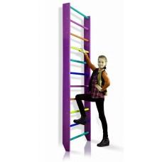 Шведська стінка SportBaby Purple, код: 0-220 (purple)