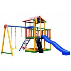 Детский игровой комплекс PlayBaby (Радуга), код: PBK11