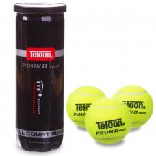 Мяч для большого тенниса Teloon Pound 3 шт код: WZT828-P3