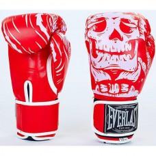 Рукавички боксерські Everlast Skull, код: BO-5493