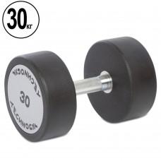 Гантель цельная профессиональная TechnoGym 1х30 кг, код: TG-1834-30