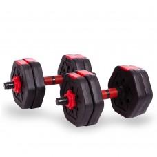 Гантели наборные CrossGym 10 кг, код: TA-1826-10