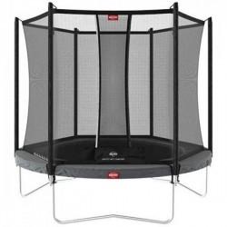 Батут с защитной сеткой Berg Favorit Regular 9ft Grey + Safety Net Comfort 2700 мм, код: 35.09.33.00