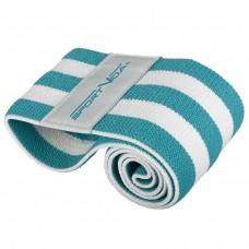Резинка для фітнесу та спорту із тканини SportVida Hip Band Size L, код: SV-HK0253