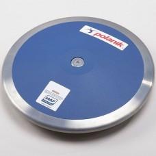 Диск соревновательный Polanik Plastic 750 гр, код: CPD14-0,75-R6