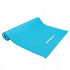 Коврик для йоги та фітнесу Springos 4 мм синій, код: YG0035