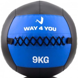 Медбол Way4you Wall Ball 9 кг, код: W40147
