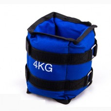 Утяжелители FitGo синий 2х2 кг, код: 87217-4-WS