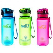 Пляшка для води Smile 500 мл, код: 8809