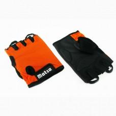 Перчатки вело, фитнес Matsa лайкра размер M оранжевый, код: MT-1000MO