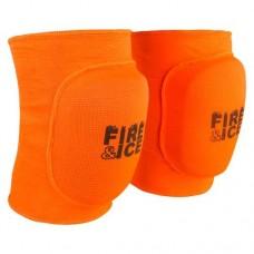 Наколінник волейбольний Fire&Ice помаранчевий розмір L, код: FR-071/L-WS