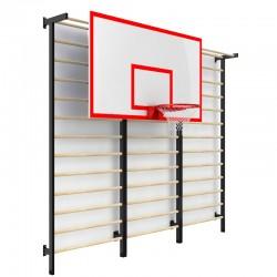 Баскетбольний щит навісний з зачепами PlayGame 1200х900 мм, код: SS00558-LD