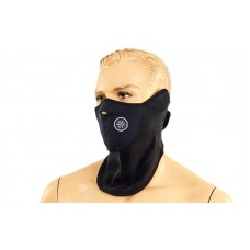 Маска вітрозахисна для обличчя та шиї CrossGym, код: M-3964-BK