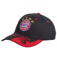 Кепка футбольного клубу Bayern, чорний-червоний, код: CO-0799-S52