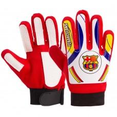Перчатки вратарские юниорские PlayGame Barcelona Size 4-7, код: FB-0028-07