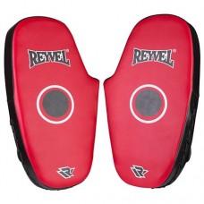 Лапа пряма Reyvel PVC, пара, червоно/чорна, код: RV-278P-WS