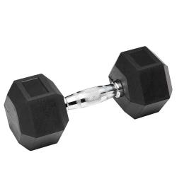 Гантель обрезиненная Spart 55 кг, код: DB6101 - 55 кг
