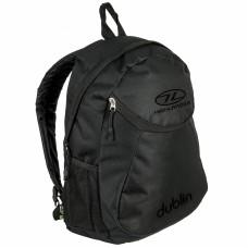 Рюкзак міський Highlander Dublin Black 15 л, код: 924195
