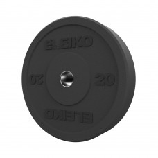 Диск амортизуючий Eleiko XF 20 кг чорний, код: 3085125-20