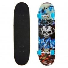 Скейтборд в зборі PLAYBABY 780х200х12 мм, код: SK-0314